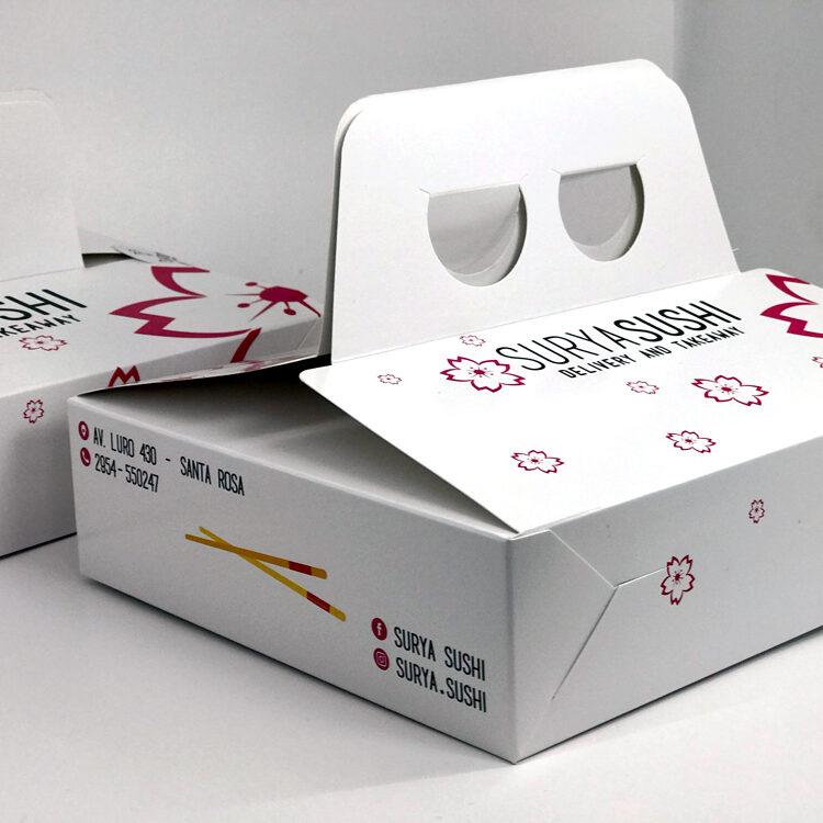 Packaging Sushi Box